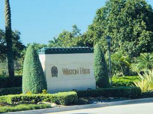 Weston Hills Gated community Weston Florida