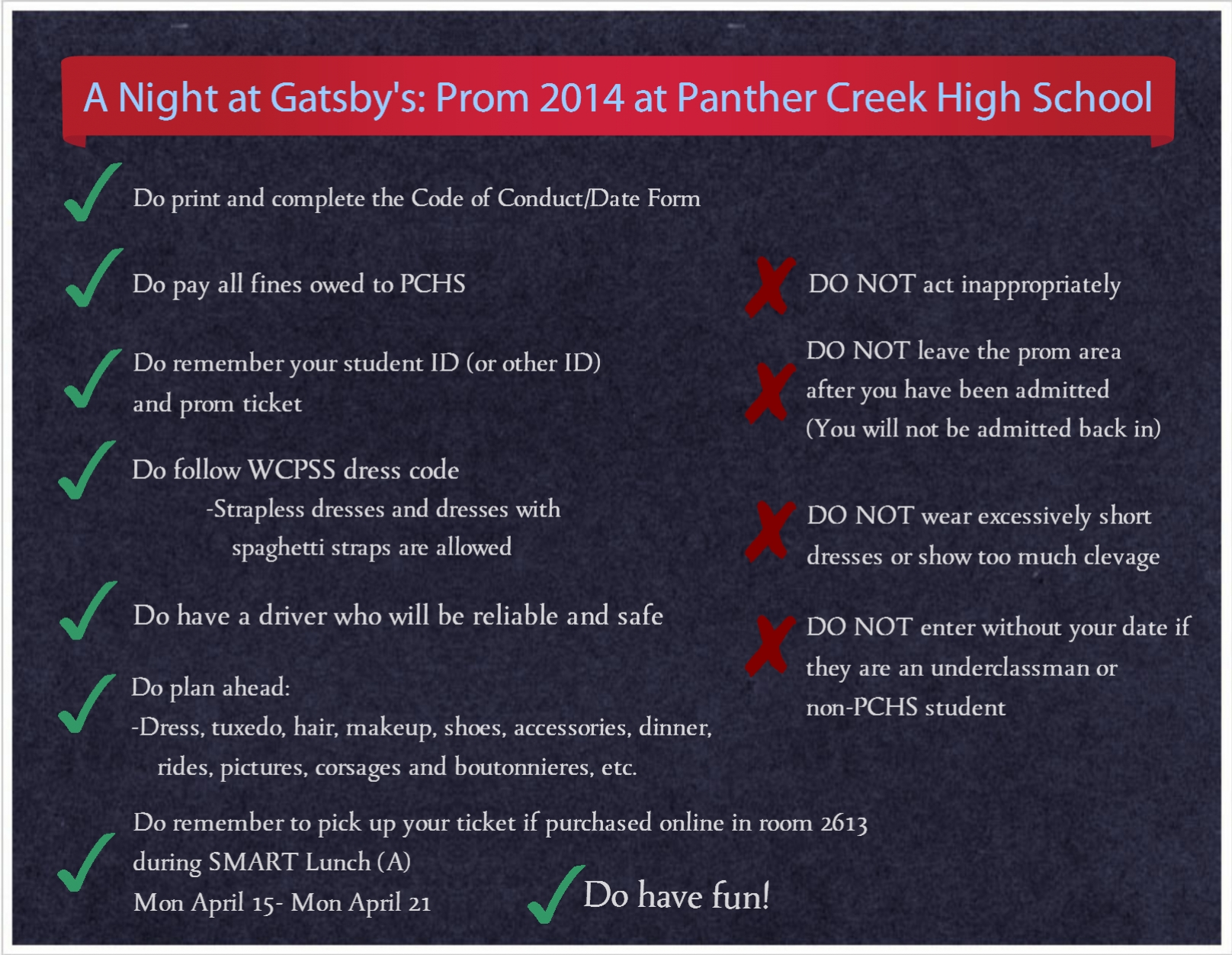 panther creek news network a night at gatsby s things you need a night at gatsby s things you need to know for prom 2014