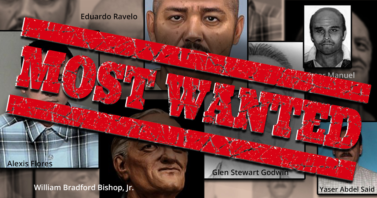 10 Most Wanted Criminals In United States