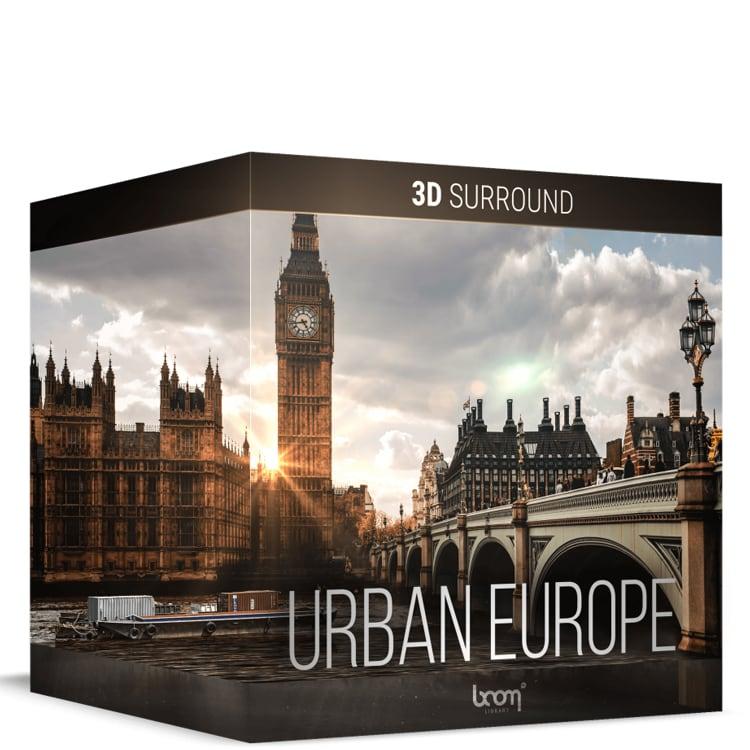 BOOM Library Urban Europe – 3D Surround