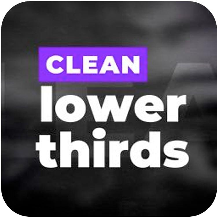 PremiumVFX Clean Lower Thirds