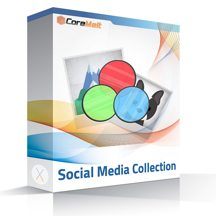 CoreMelt LUTx Social Media Collection