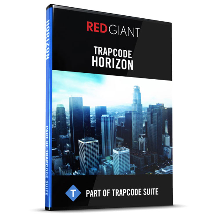 Red Giant Trapcode Horizon