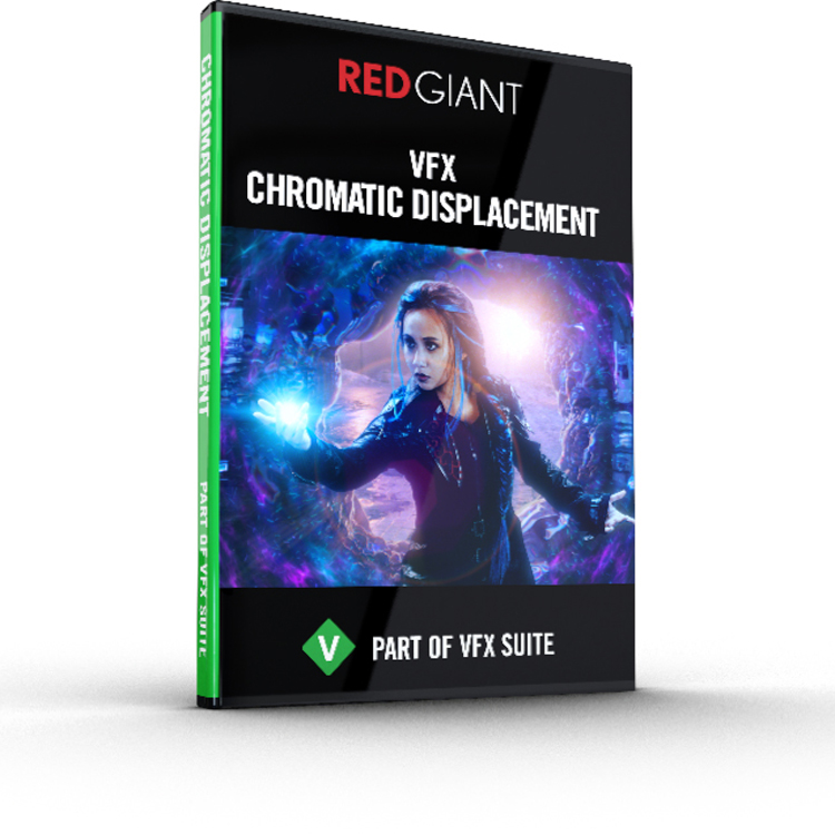 Red Giant VFX Chromatic Displacement