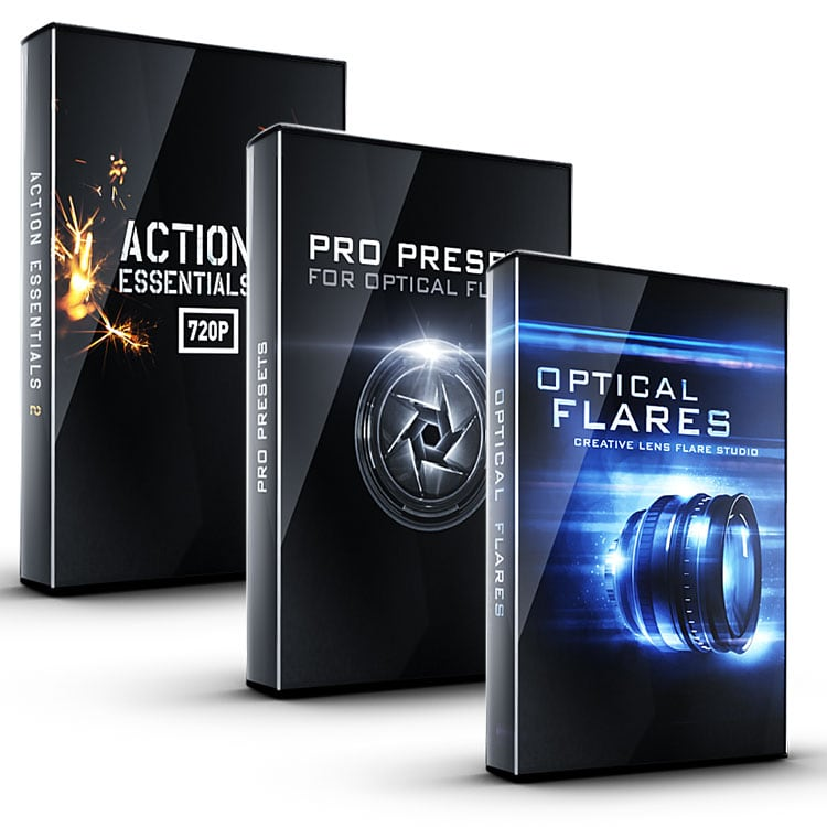 Video Copilot Action Flares Bundle (Optical Flares + Pro Presets + Action Essentials II)