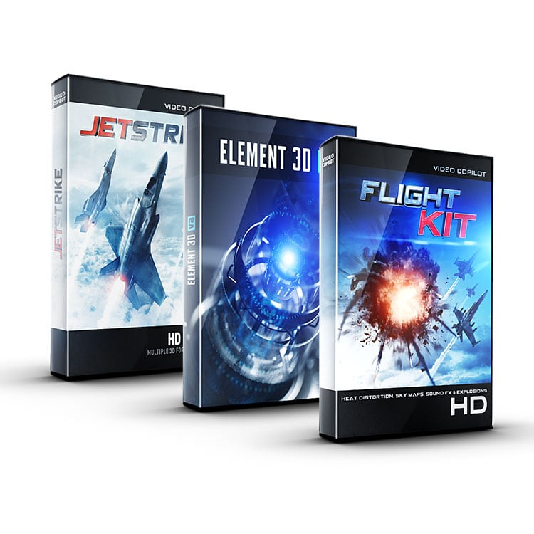 Video Copilot Jet Pack Bundle