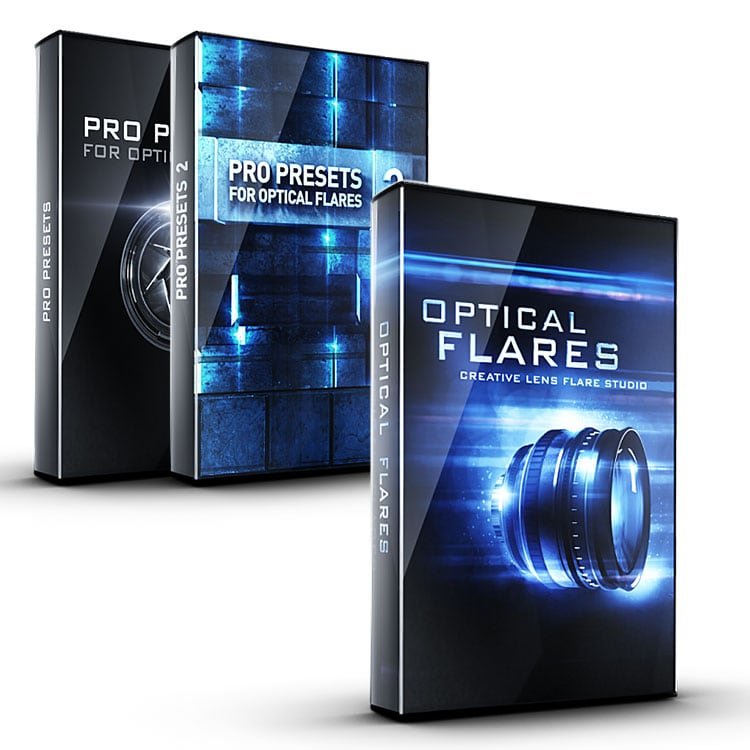 Video Copilot Pro Flares Bundle (Optical Flares & Pro Presets I & II)