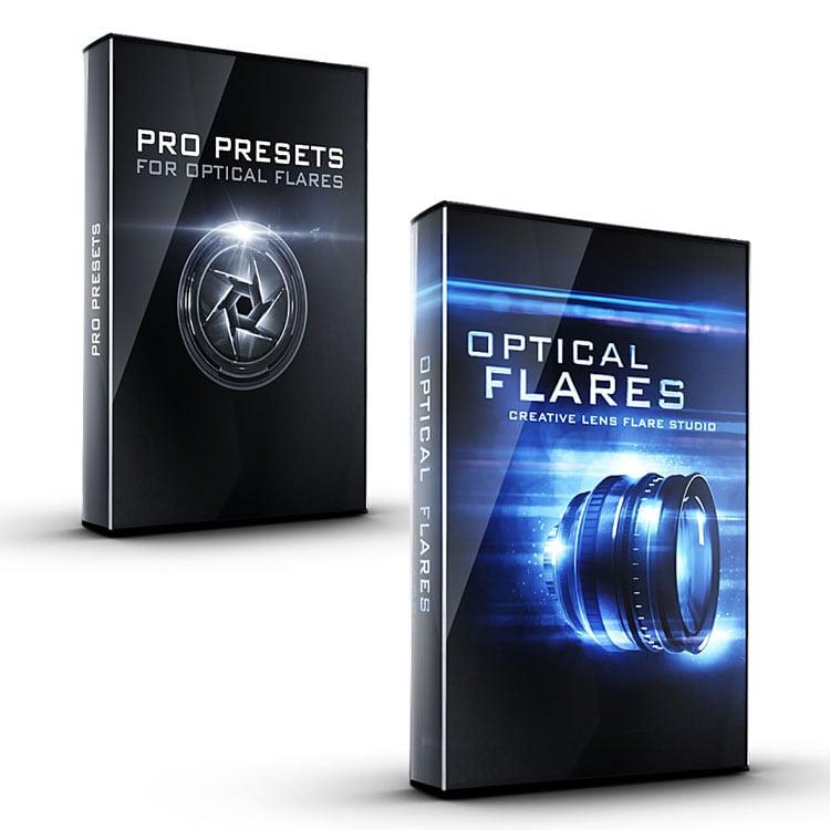 Video Copilot Optical Flares Plug-in for After Effects & Pro Presets I Bundle