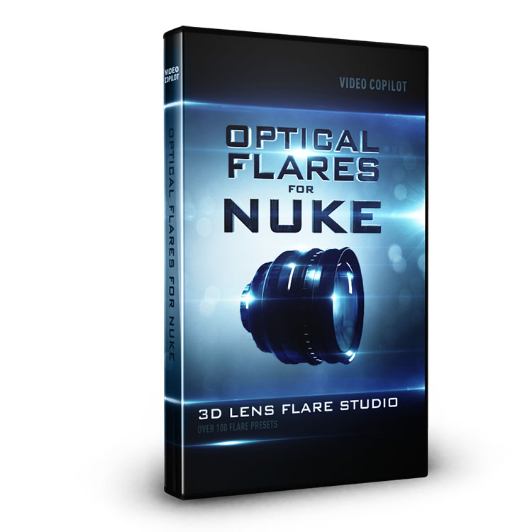 HOT - Video Copilot Optical Flares for Nuke on Mac