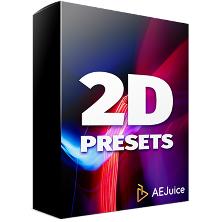 AEJuice 2D Animation Presets