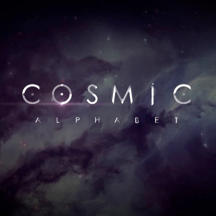 AEJuice Cosmic Animated Alphabet