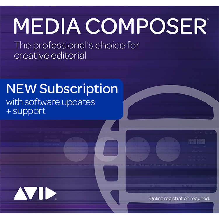 Avid Media Composer - Subscription