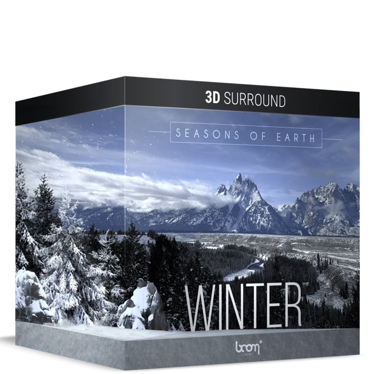 BOOM Library Seasons Of Earth – Winter - 3D Surround