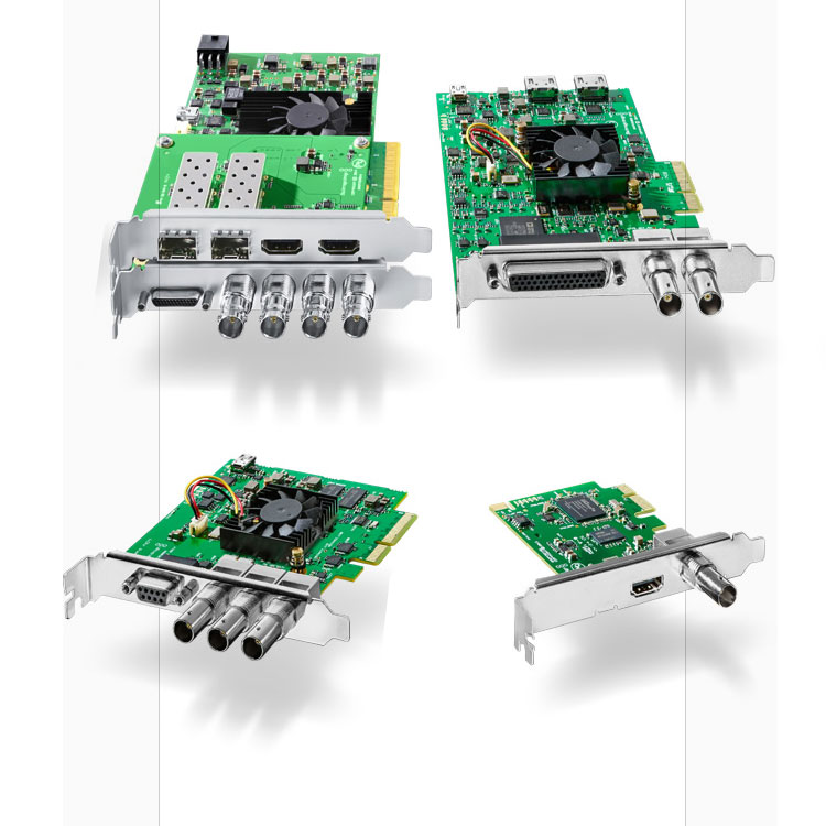 Blackmagic Design DeckLink Capture Cards