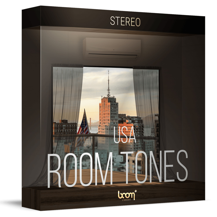 room tone usa stereo