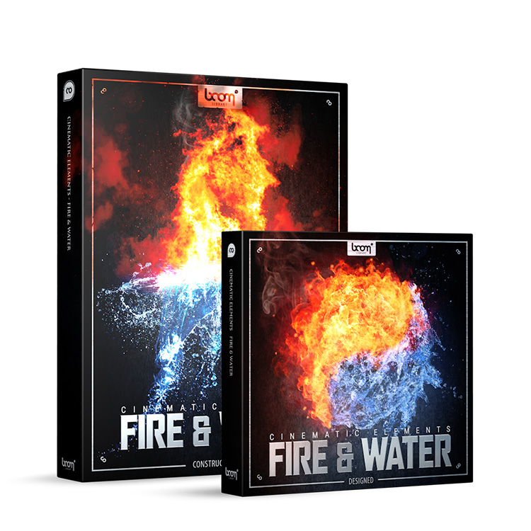 BOOM Library Cinematic Elements: Fire and Water Bundle (Designed + Construction Kit)