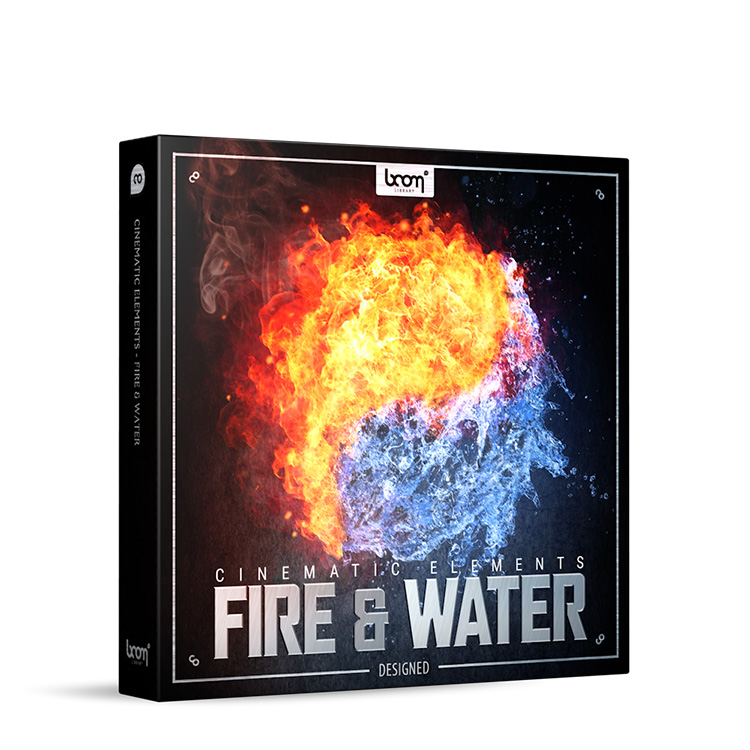 BOOM Library Cinematic Elements: Fire and Water - Designed