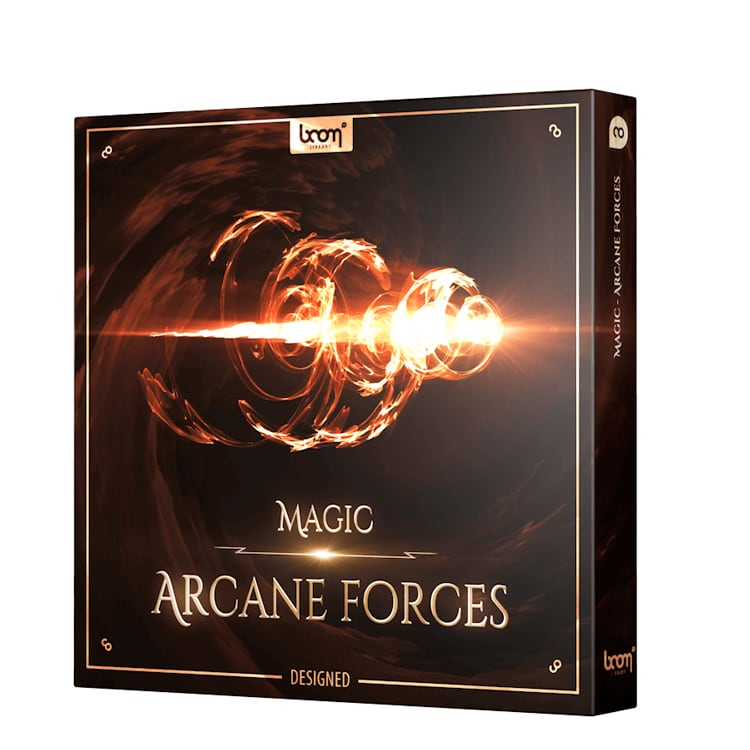 BOOM Library Magic – Arcane Forces Designed