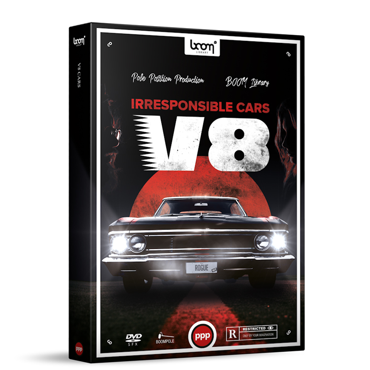 BOOM Library Cars – V8