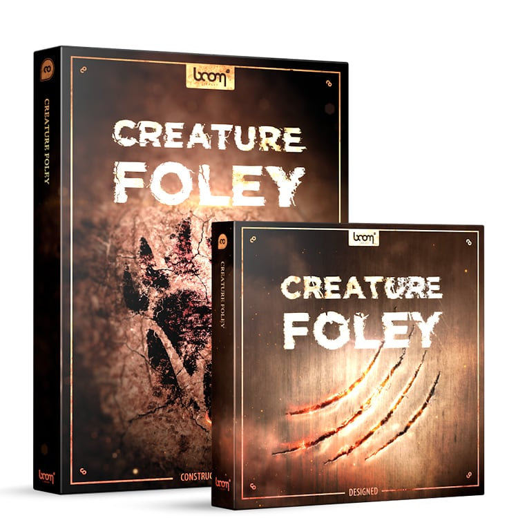 BOOM Library Creature Foley – Bundle (Designed + Construction Kit)