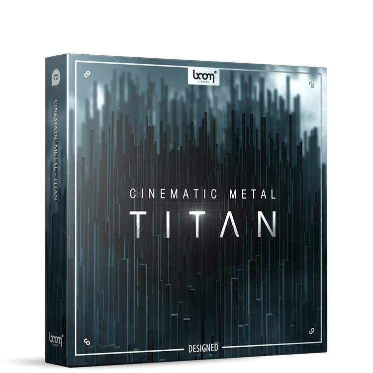 BOOM Library Cinematic Metal - Titan Designed