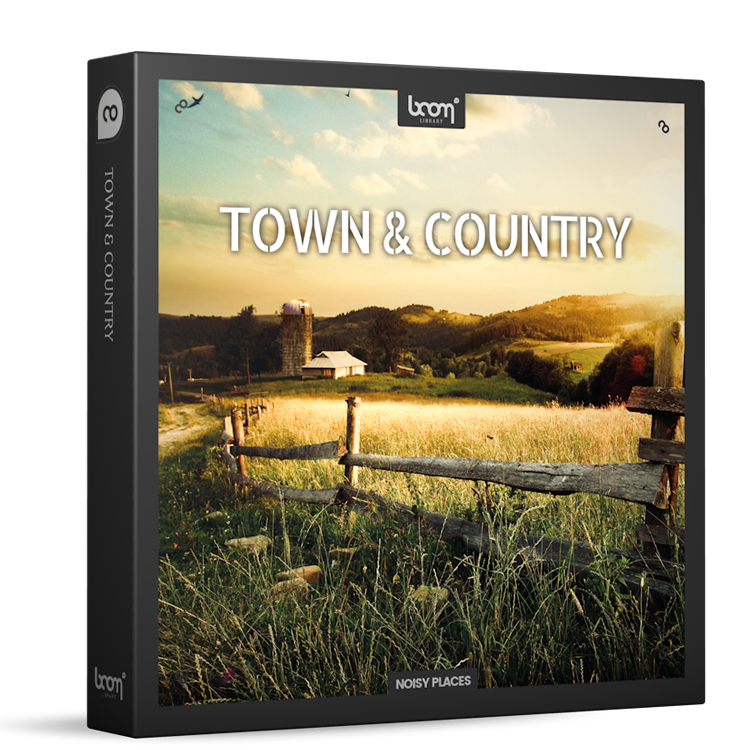 BOOM Library Town & Country Ambience Toolkit
