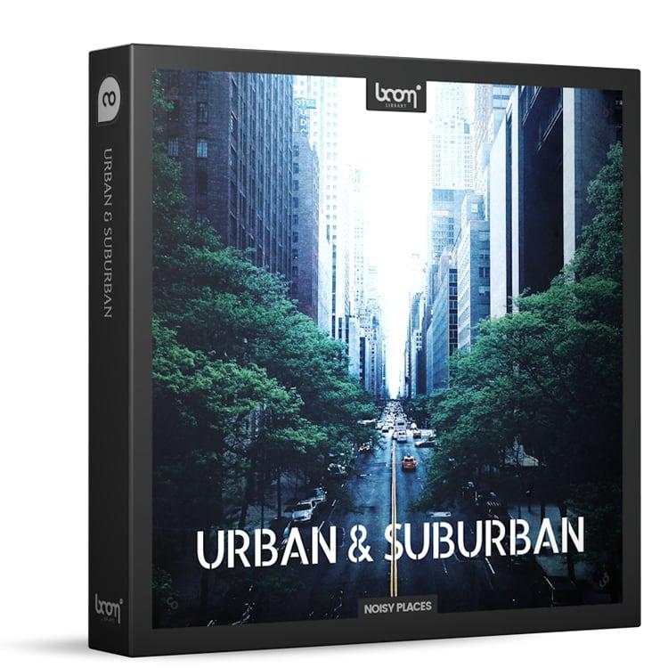 BOOM Library Urban & Suburban - Ambience Toolkit