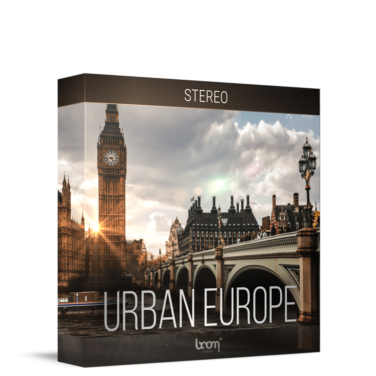 BOOM Library Urban Europe - Stereo