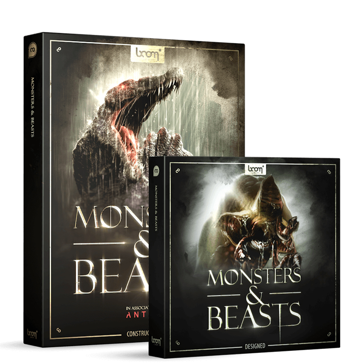 BOOM Library Monsters & Beasts Bundle (Designed + Construction Kit)