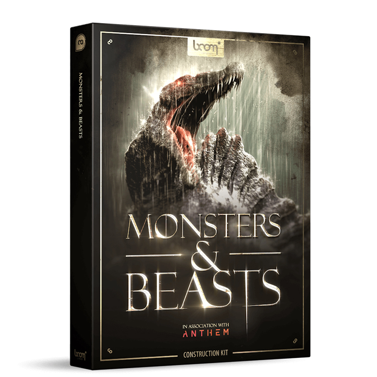 BOOM Library Monsters & Beasts Construction Kit