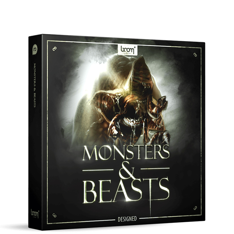 BOOM Library Monsters & Beasts Designed