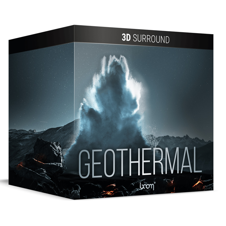 BOOM Library Geothermal – 3D Surround