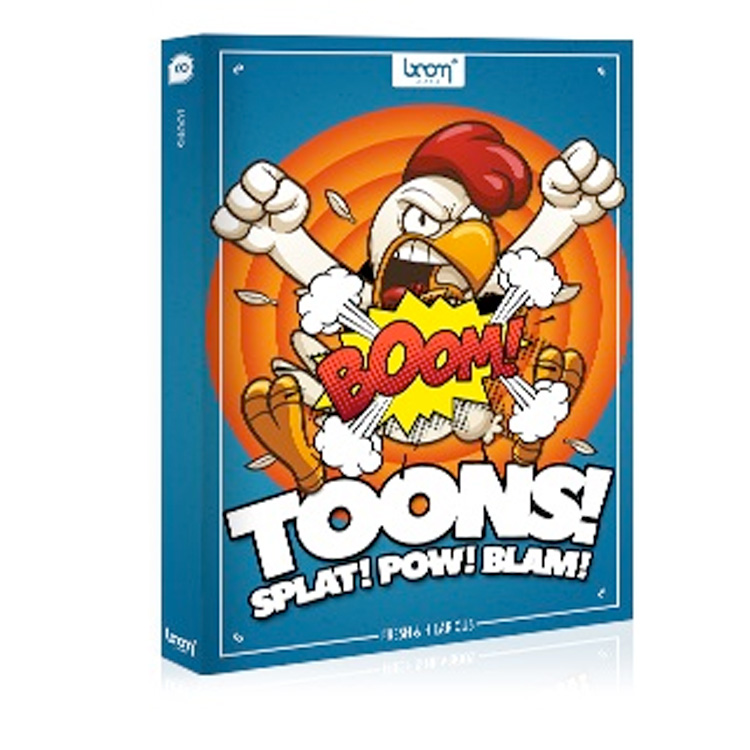 BOOM Library SFX Toons