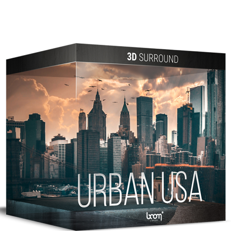 BOOM Library Urban USA - 3D Surround