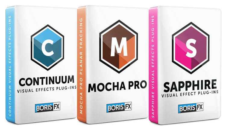 Boris FX: Sapphire, Continuum, and Mocha Pro Bundle