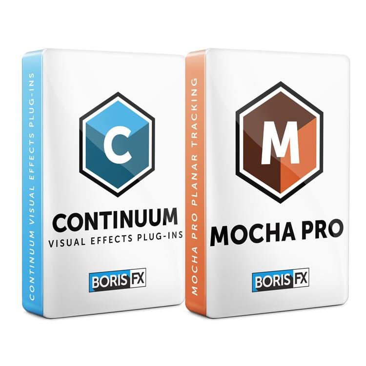 Boris FX: Continuum and Mocha Pro Bundle