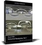 DOSCH HDRI: Industrial Backplates Vol.1