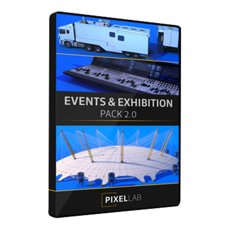 Pixel Lab Events / Exhibitions Pack V2