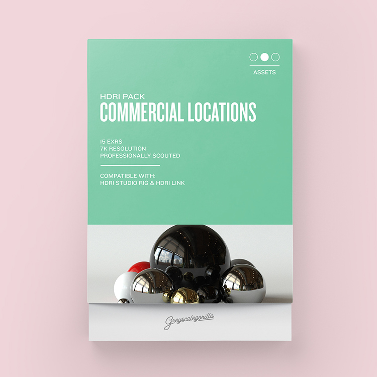 Greyscalegorilla HDRI Expansion Pack: Commercial Locations