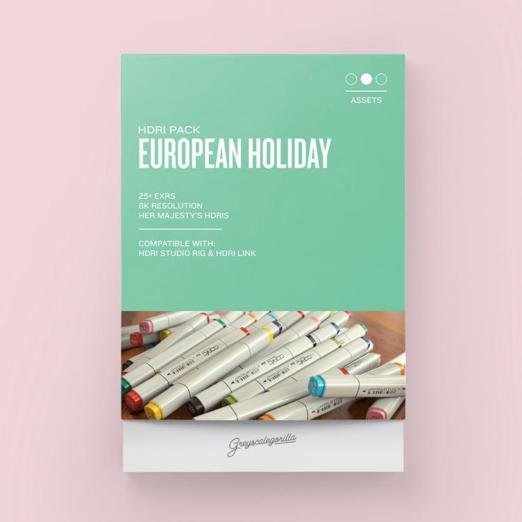 Greyscalegorilla HDRI Expansion Pack: European Holiday