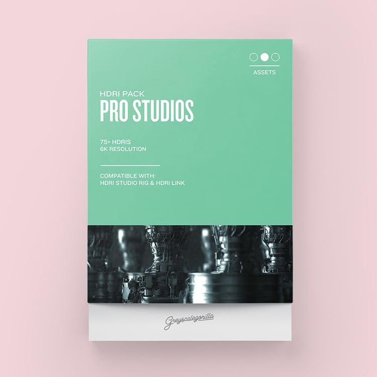 Greyscalegorilla HDRI Expansion Pack: Pro Studios