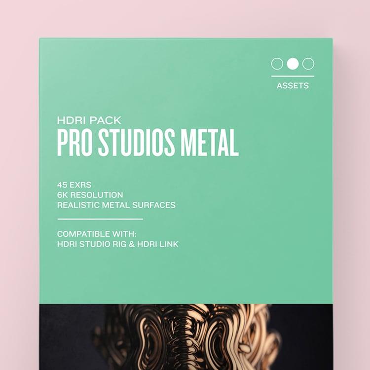 Greyscalegorilla HDRI Expansion Pack: Pro Studios Metal