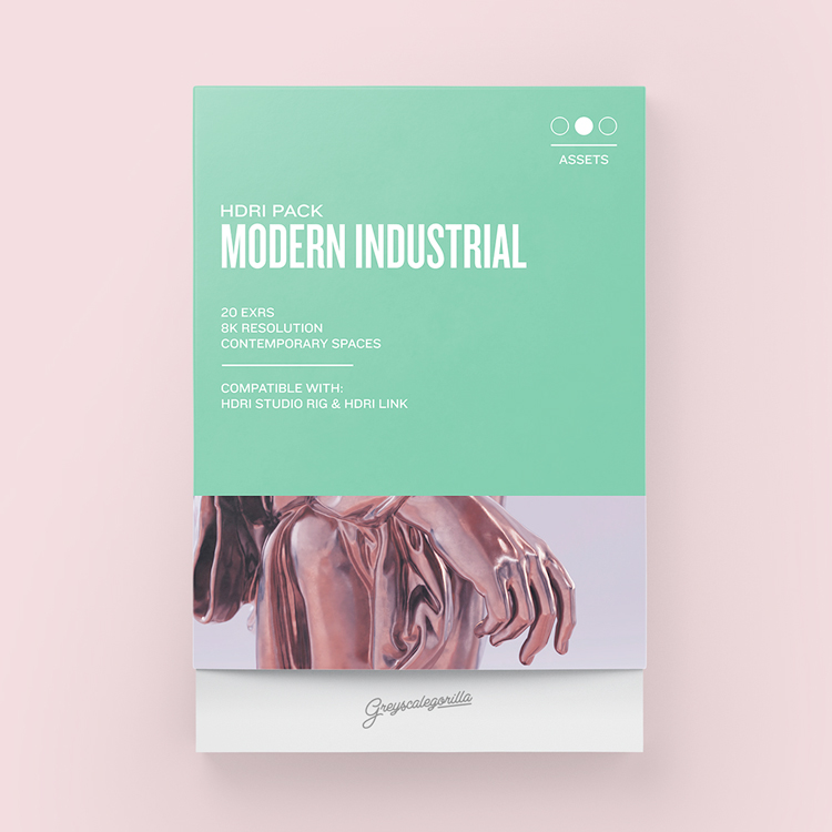 Greyscalegorilla HDRI Expansion Pack: Modern Industrial