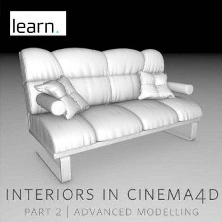 helloluxx learn. Interiors in Cinema 4D: Advanced Modelling