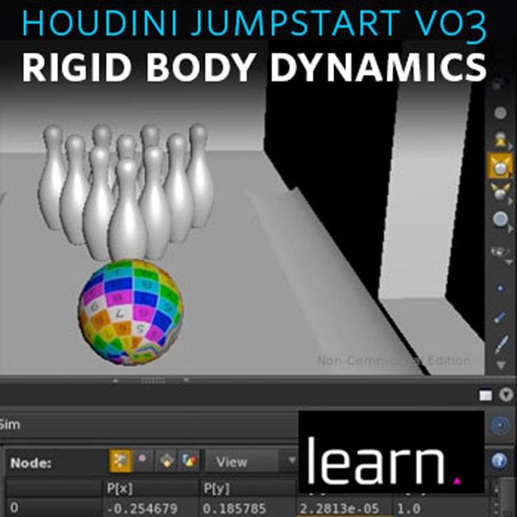 helloluxx learn. Houdini Jumpstart Vol. 3: Intro to Rigid Body Dynamics