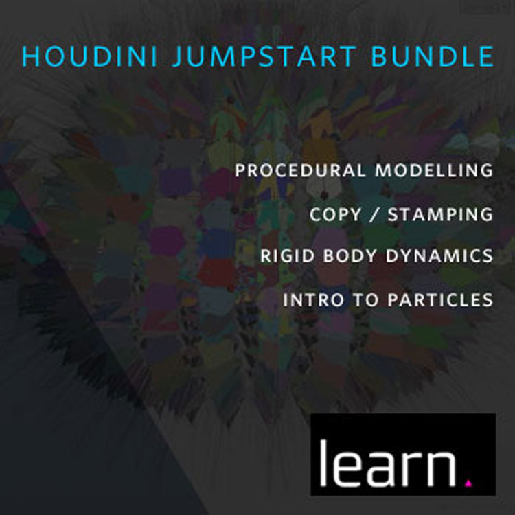 helloluxx learn. Houdini Jumpstart Bundle from Adam Swaab