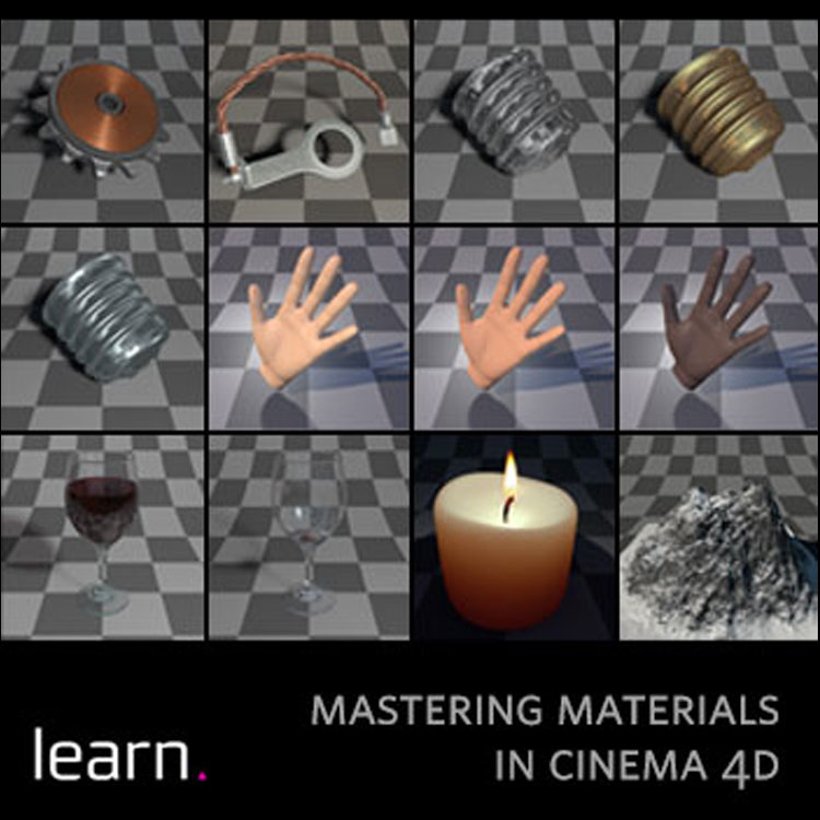 helloluxx learn. Cinema 4D Training: Mastering Materials Part 1
