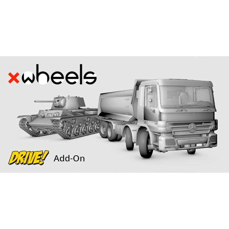 Heyne Multimedia xWHEELS for Cinema 4D (Add-on for DRIVE!)