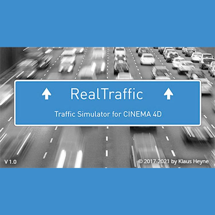 Heyne Multimedia RealTraffic for Cinema 4D