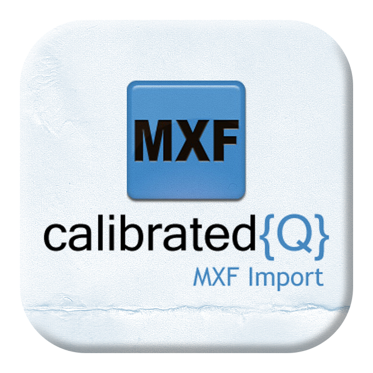Calibrated Software MXF Import